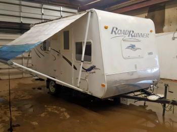Salvage Trail King Trailer